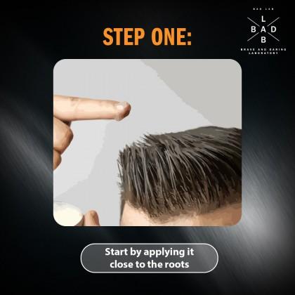 Bad Lab Lock & Load Solid Texture Hair Wax 70g Halal