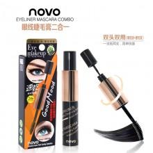 NOVO 2in1 Mascara n Eyeliner Combo