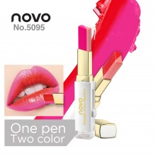 NOVO 2 Tone Colour Lipstick