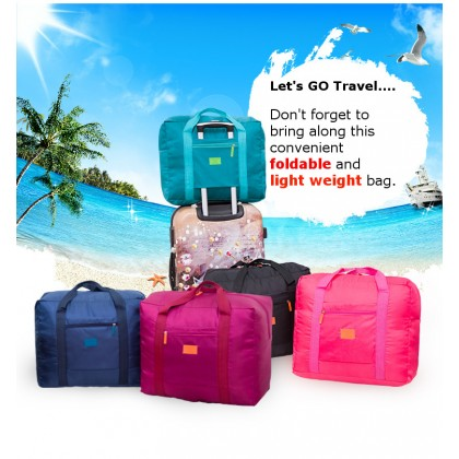 Travel Large Foldable Luggage Multipurpose Bag Waterproof (A12)