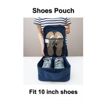 Travel Shoes Pouch Organizer Water Proof 10 Inch Shoes