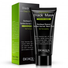 BIOAQUA Black Mask Activated Carbon Charcoal Blackhead Removal