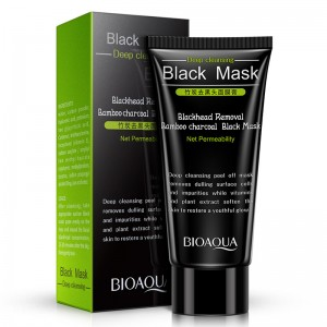BIOAQUA Black Mask Activated Carbon Charcoal Blackhead Removal (B13)