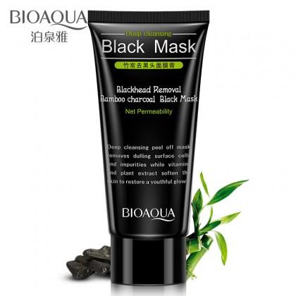 BIOAQUA Black Mask Activated Carbon Charcoal Blackhead Removal (B13)