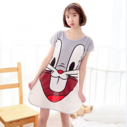 Ladies Sleep Wear Cute Cartoon Character