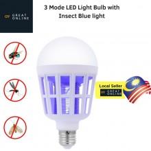 LED Mosquito Killer Bulb 220V 15W LED Zapper Trap (B5B)