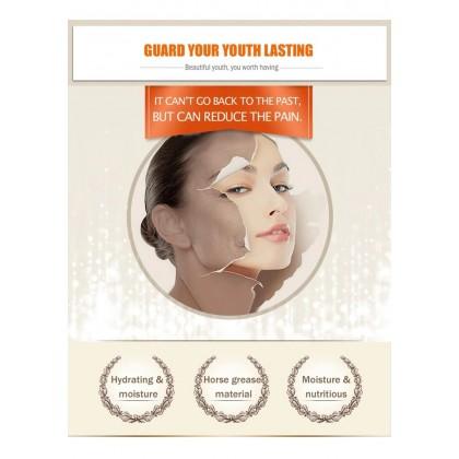 BIOAQUA Horse Oil Sheet Face Mask Moisturizing Oil Control Tightening Pores (C13)