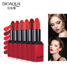 Bioaqua Matte Lipstick Velvet High Quality Waterproof Long Lasting Moisture Beauty Lipsticks