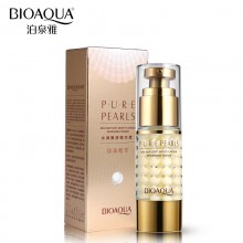 BIOAQUA Brand Pure Pearl Collagen Hyaluronic Acid Face Skin Care Moisturizing Hydrating Anti Wrinkle Anti Aging Essence 35ml