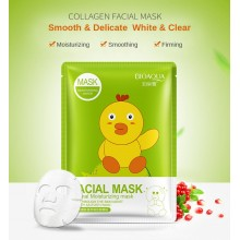 BIOAQUA Cartoon Facial Mask Deep Moisturizing Sheet Mask Oil Control Brighten Skin Mask