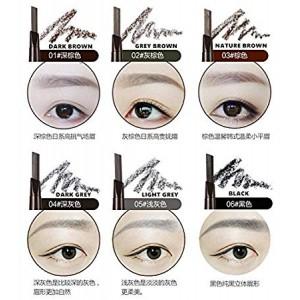 G9 BY NANDA 2 IN 1 Automatic Makeup Eyebrow Waterproof Permanent Eyebrow Pencil (B21)