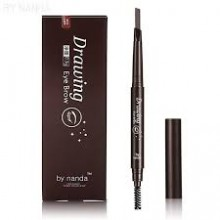 G9 BY NANDA 2 IN 1 Automatic Makeup Eyebrow Waterproof Permanent Eyebrow Pencil