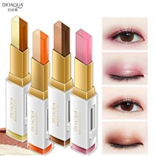G9 BIOAQUA Double Color Eye Shadow Glitter Waterproof Long Lasting Professional Eye Make Up Tools