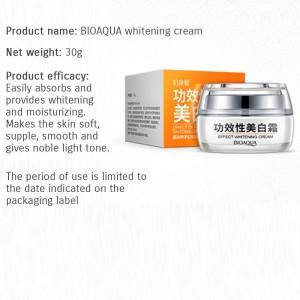 G9 BIOAQUA Whitening Cream Smooth Silky Skin Care Nourishing Moisturizing 30g