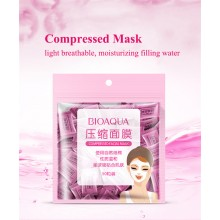 G9 50pcs/pack BIOAQUA Compressed Facial Mask DIY Disposable Face Mask (C43)