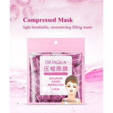 G9 50pcs/pack BIOAQUA Compressed Facial Mask DIY Disposable Face Mask Paper Cotton Natural Skin Care Wrapped Masks