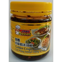 MASSOS Golden Crispy Prawn Chili 240g