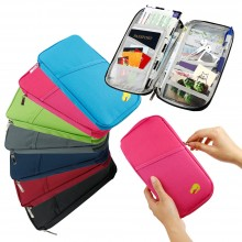 G9 Travel Passport Bag Card Holders Wallet Purse Unisex (A43)