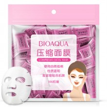 G9 100pcs/pack BIOAQUA Compressed Facial Mask DIY Disposable Face Mask (C43)