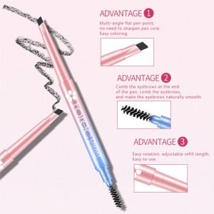 G9 ROREC Cherry Blossoms Double-headed Eyebrow Pencil (B31)