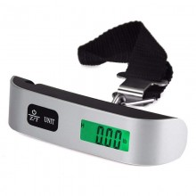 Electronic Luggage Scale Digital Portable Suitcase Travel Scale Weight 110lb/50kg (D61)