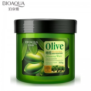 BIOAQUA Olive Hair Mask Hair Repair Treatment 500g