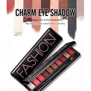 G9 BIOAQUA Fashion 10 Colors Eyeshadow Pallete Makeup Cosmetics (A21)