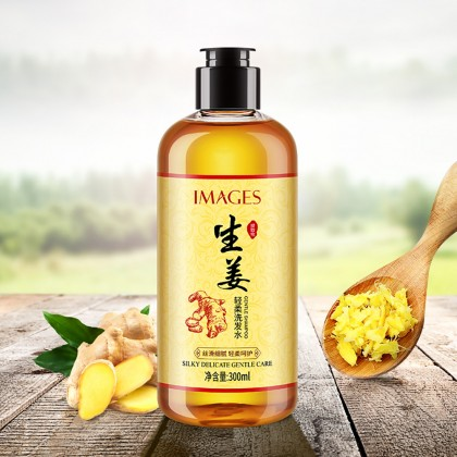 IMAGES Ginger Shampoo Anti Hair Dandruff Hair Care 300ml (B33)