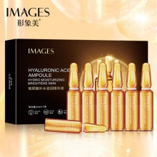 IMAGES Hyaluronic Acid Ampoule hydra Moisturizing Brightens Skin Ampoule 7x2ml (B32)