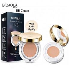 BIOAQUA Exquisite & Delicate BB Cushion Cream 15g+15g(refill) (B33)