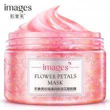 IMAGES Flower Petals Mask Rose Petals Anti Wrinkle Face Cream 120g (B43)