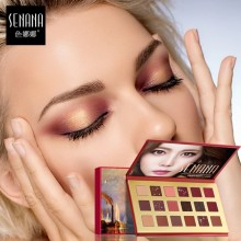 SENANA Streamlined Eighteen Color Eyeshadow Pallete 18colors Eye Make Up (B21)