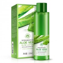 BIOAQUA Aloe Vera 92% Extracts Aloe Lotion Refresh And Moisture Face Toner 120ml (A22)