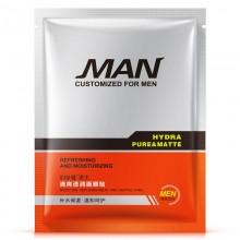 BIOAQUA Man Hydra Pure & Matte Refreshing And Moisturizing Face Mask 1 Piece