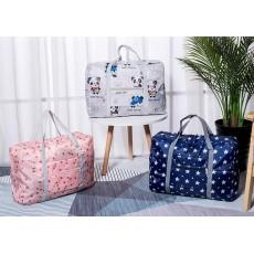 Printed Duffle Travel Luggage Bag Organizer