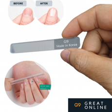 Korea Nano Glass Nail File Polish Sanding Shining Nail