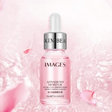 Images Rose Serum Improve Moisturizing Uneven Skin Tone Shrinking Pores Face Smooth Brightening