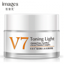 IMAGES V7 Toning Light Face Cream Moisturizing Whitening Anti-aging Anti wrinkle Essence Day Cream Face Care 50g