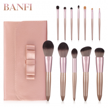 12pcs Makeup Brushes Set Powder Foundation Blush Eye shadow Lip Cosmetic Beauty Make Up Brush