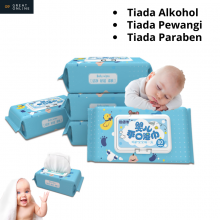 Baby Wet Wipes 80's BST Fragrance Free Soft and Gentle Skin Wipes