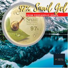 Foodaholic 97% Snail Soothing Gel
