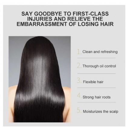 JOMTAM  Ginger professional herbal shampoo anti-hair loss itching dandruff oil-refreshing control 400ml