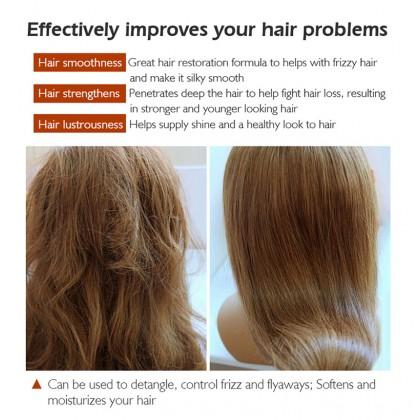 G9 Exgyan Peach Professional Hair Mask Strengthening Healthy Hair Treatment Dry Split Hair 500g