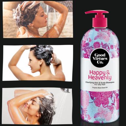 G9 Good Virtues Co Clarifying Hair & Scalp Shampoo For Oily Hair 700ml