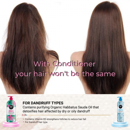 Good Virtues Co Anti-Dandruff Care Conditioner Nourishing Hair Fall Protection 300ml