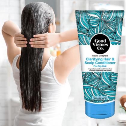 Good Virtues Co Clarifying Hair & Scalp Conditioner For Oily Hair 300ml