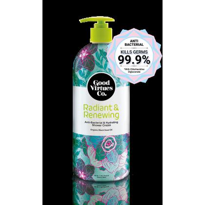 Good Virtues Co GVC Anti-Bacterial & Hydrating Shower Cream 700ml