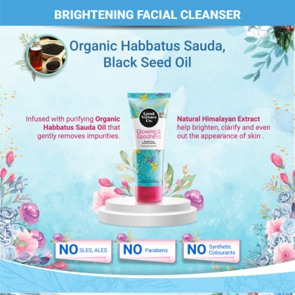 Good Virtues Co Brightening Facial Cleanser 100ml