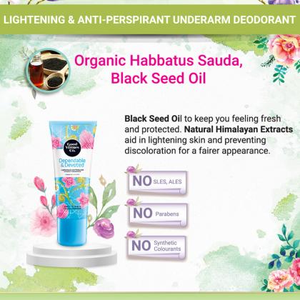 Good Virtues Co GVC Lightening & Anti-Perspirant Underarm Deodorant Roll On 50ml
