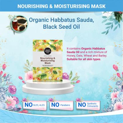 G9 Good Virtues Co Nourishing & Moisturising Mask 5pcs Box Women Halal Facial Mask Made in Malaysia